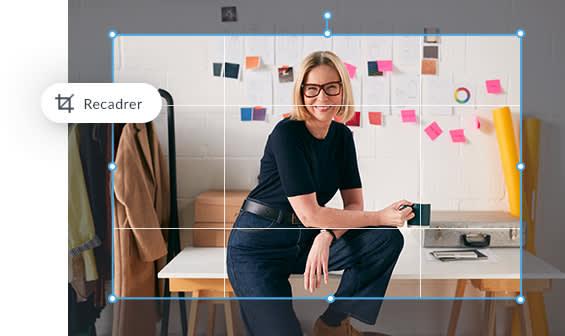 outils d'édition de photos en ligne pour ajuster la taille, l'exposition, l'arrière-plan, les couleurs et les retouches