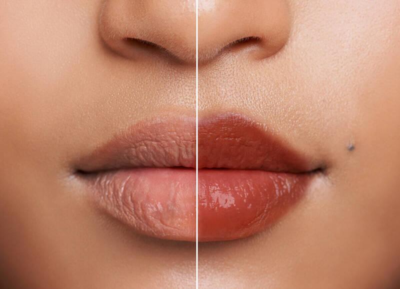 Lipstick, touch up, makeup tips, PicMonkey, photo retouching