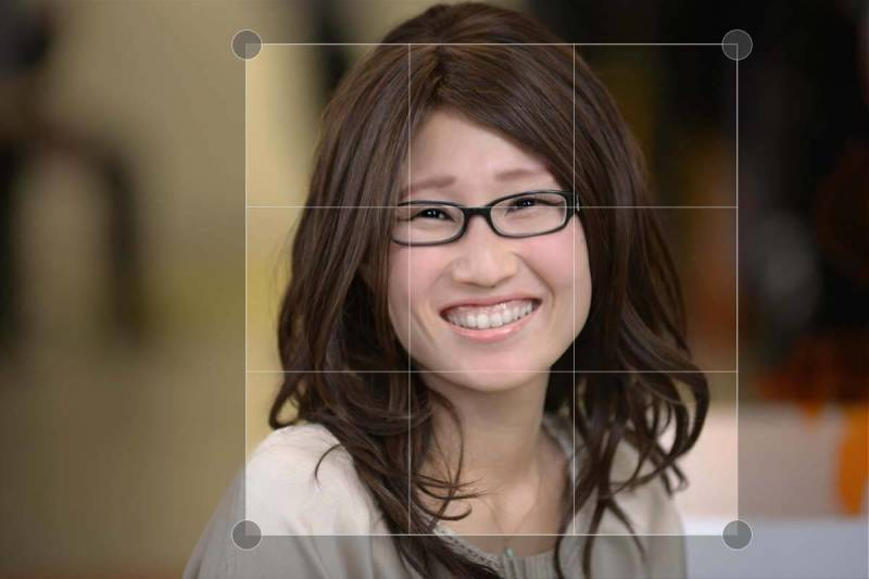 Cropping is an easy way to improve your headshots.