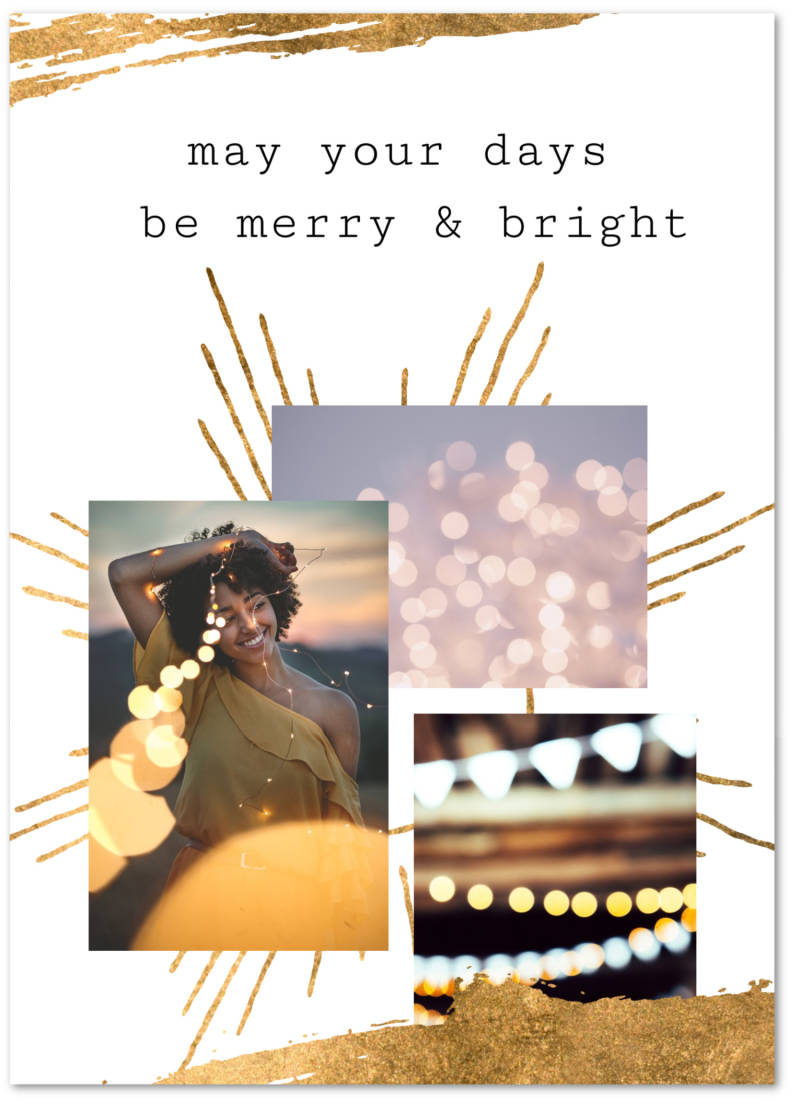 PHOTO CARD TEMPLATES CHRISTMAS