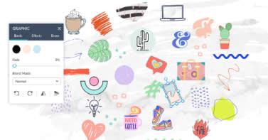 customize 1000s of vector graphics online