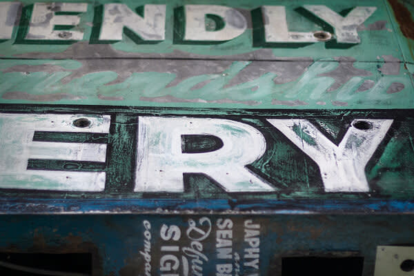 photo of bakery sign