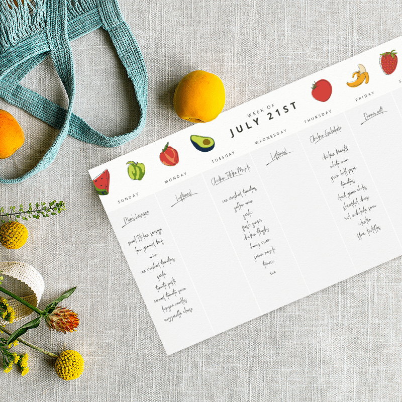 Using a calendar template is a great way to keep track of your diet and exercise and keep your New Year's resolutions.