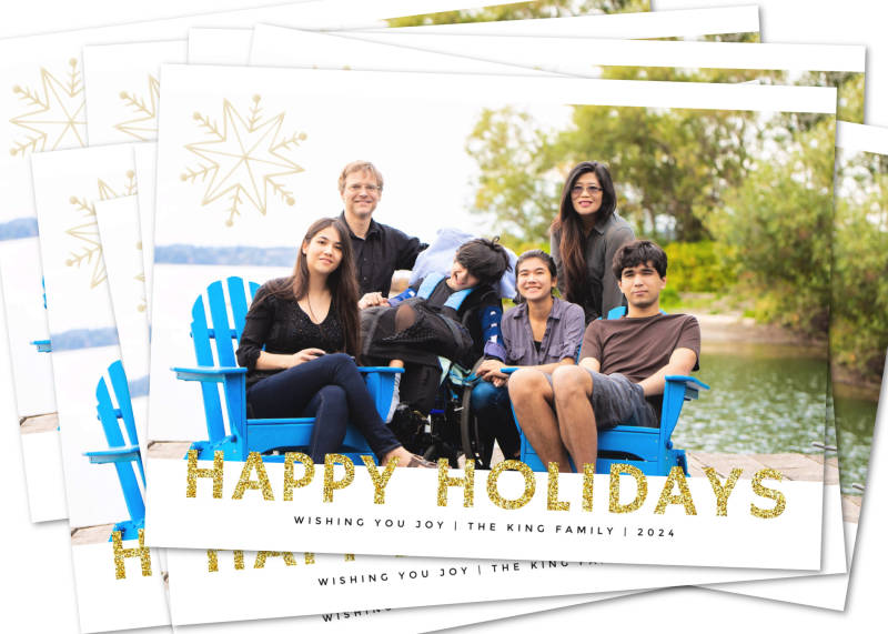 your holiday card is now ready to send