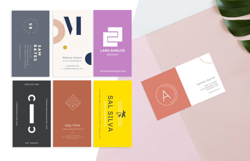 Make outstanding business cards with picmonkey graphics