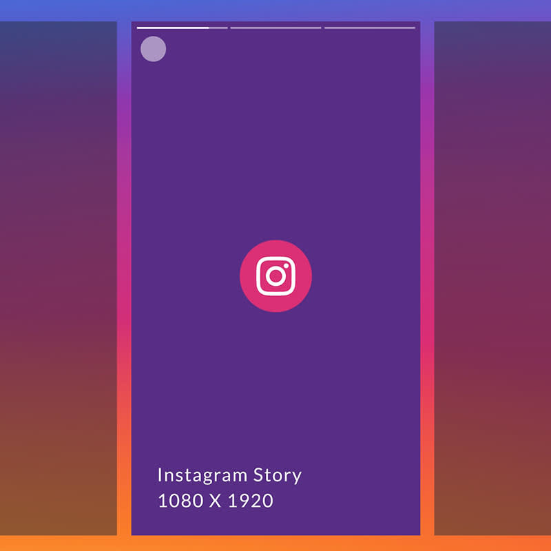instagram story size cover for 2021