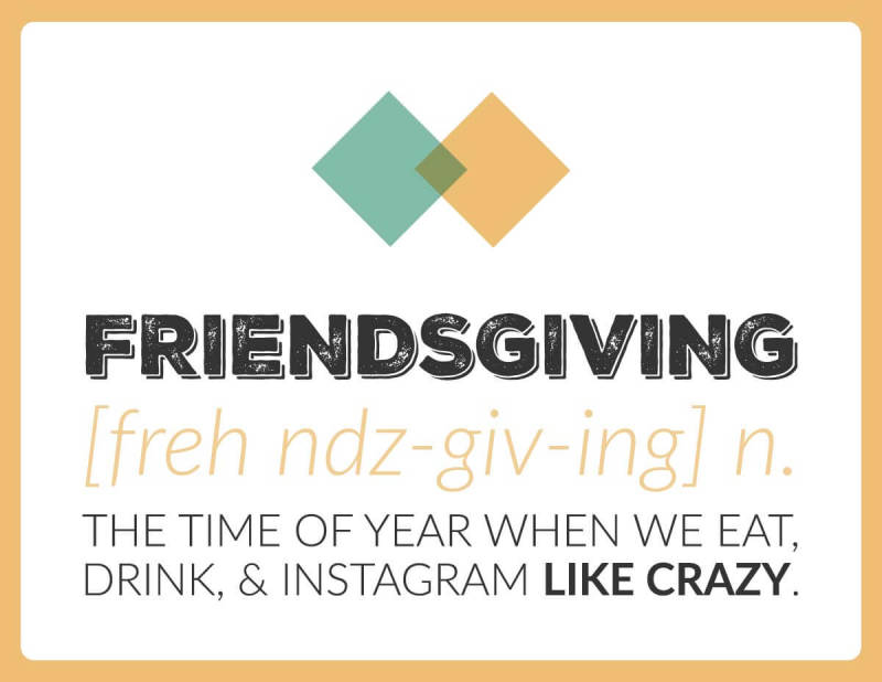 Thanksgiving Printable Friends 2