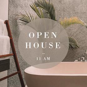 Plantilla para post para Instagram de Casa urbana abierta a visitas