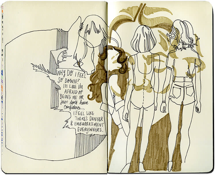 How sketchbook drawings can boost your creative work.