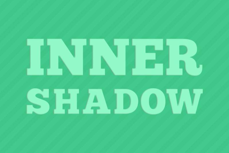 Make your words stand out with text effects, like PicMonkey's Inner Shadow.