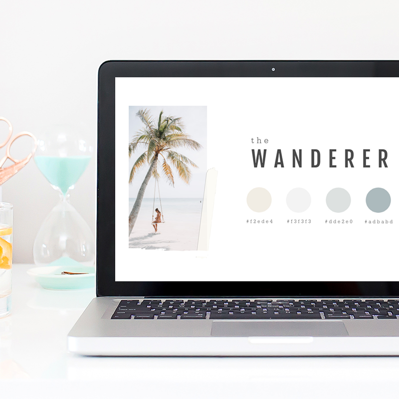 Create a color palette for your brand