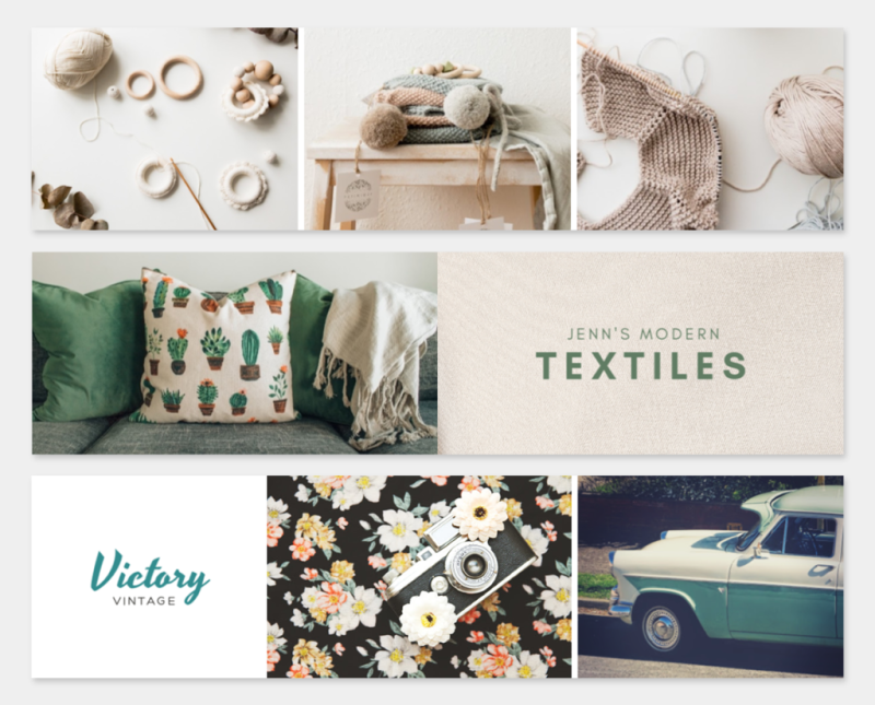 PicMonkey has tons of gorgeous Etsy banner templates you can use for your Etsy storefront.