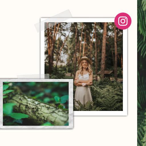 diseñador para posts de Instagram