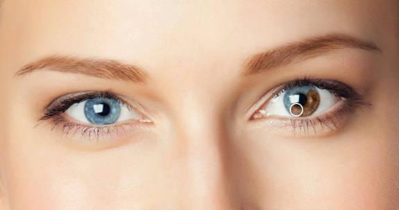 Cambiador de color de ojos en PicMonkey