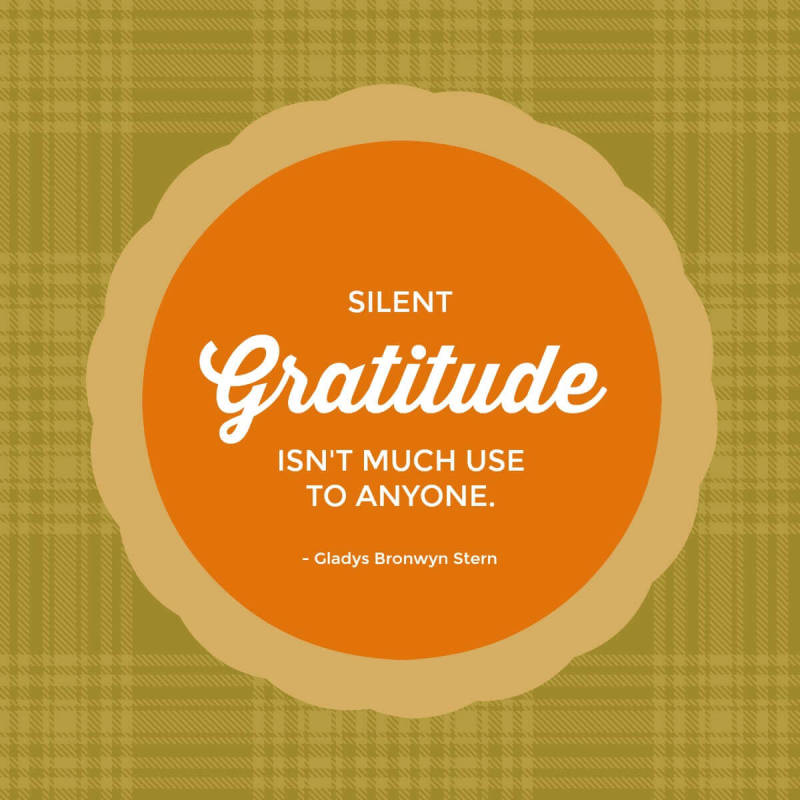 Express your gratitude through Thanksgiving quotes, now made delicious with PicMonkey templates.