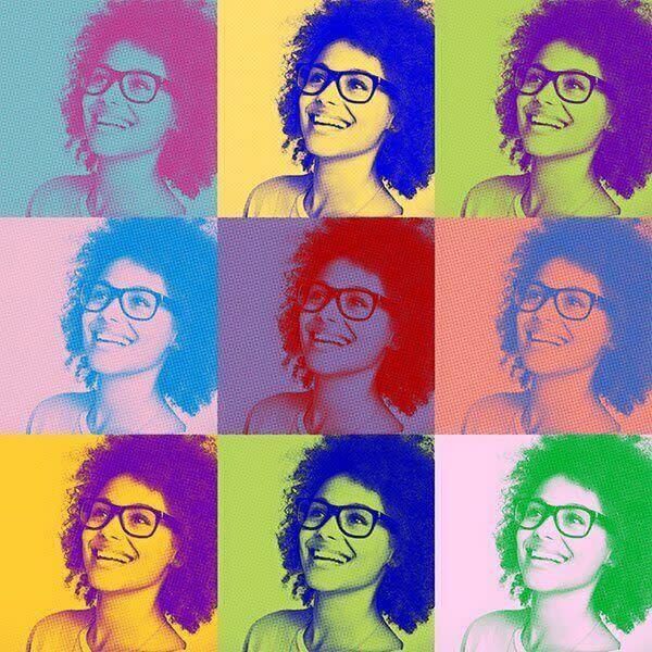 PicMonkey te ayuda a crear un collage al estilo Warhol.