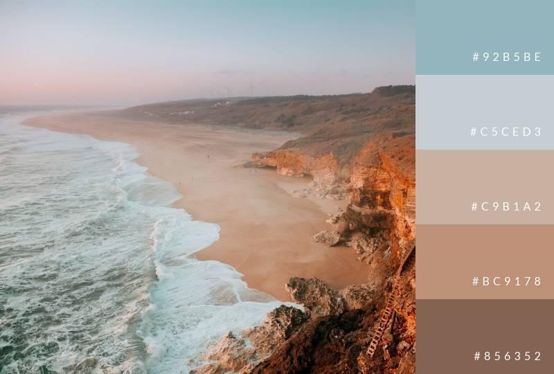 color-palette-coast-at-dusk