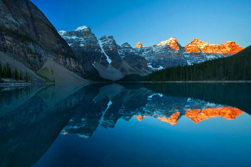 Consejo para la fotografía de paisajes: toma tus fotos durante las