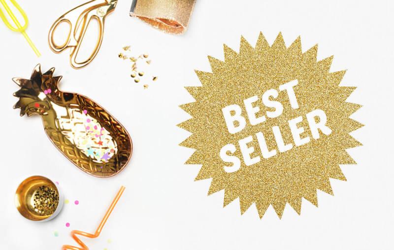 La forma del marco Radiante de PicMonkey es perfecta para resaltar productos, rebajas y ofertas especiales en tu tienda online o en los materiales de marketing.