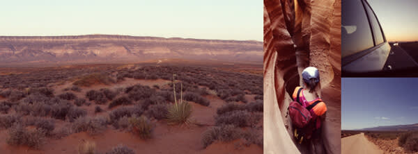 Facebook cover photos collaged from vacation snaps, like Jenn's, are personal and pretty.