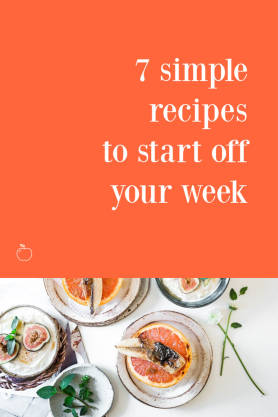 7 Simple Recipes pinterest template