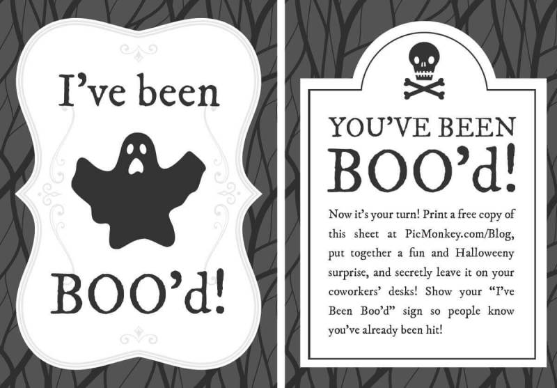 Office You've been Boo'd printables
