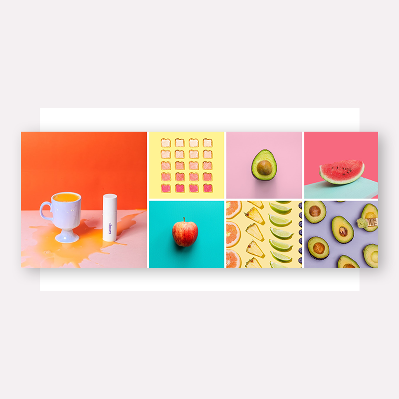 12 photo grid layout ideas to make collages for social media or cards and more