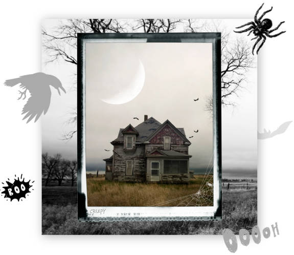 Wicked Halloween photo editing and effects
