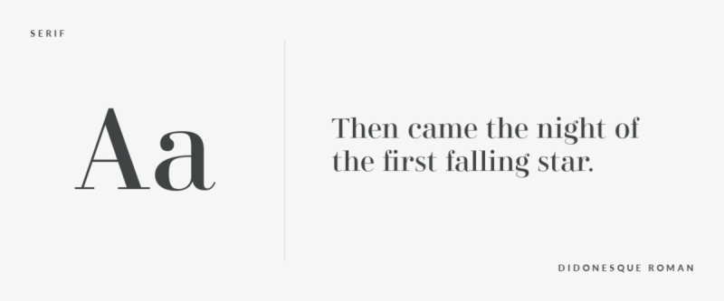 font-pairing-serif