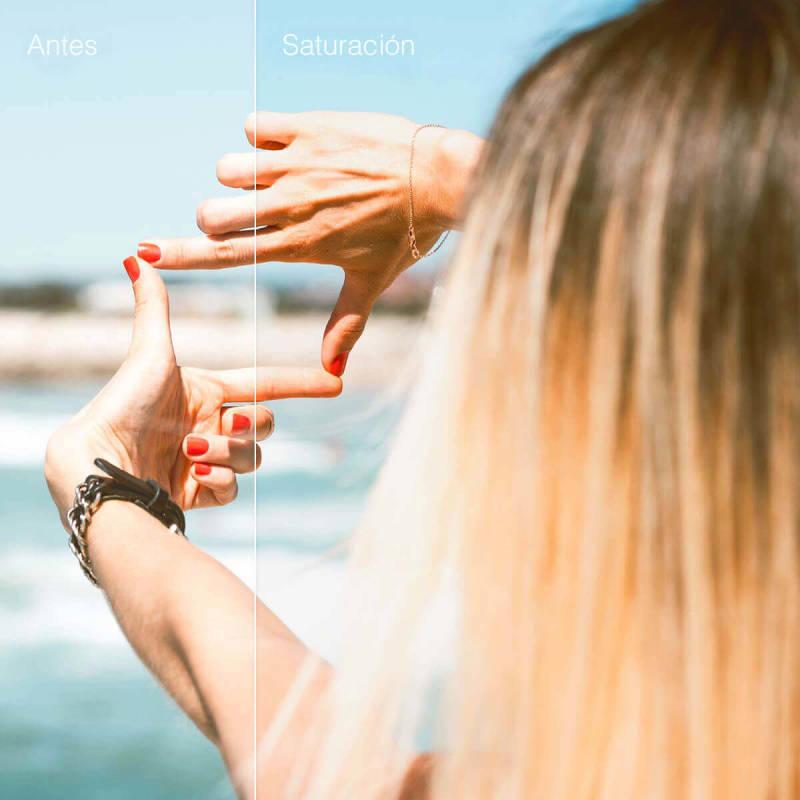 Ajustar la saturación de tu imagen puede ayudar a mejorarla en general.
