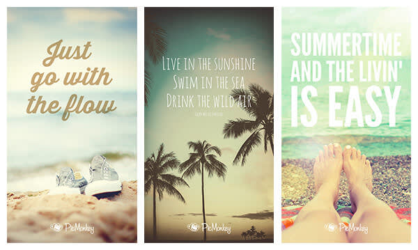 Feel the mood of summer with quotes that make the moment.