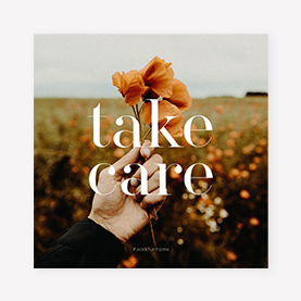 Take Care Instagram Post