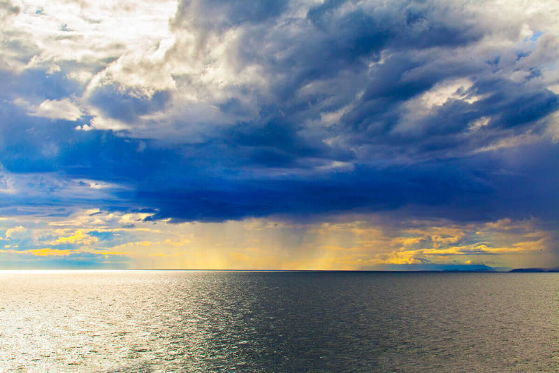 Consejo para la fotografía de paisajes: toma foto a las condiciones existentes y te convertirás en mejor fotógrafo.