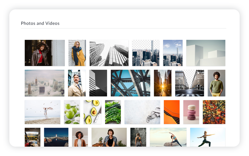 How to make a vision board with PicMonkey: add photos