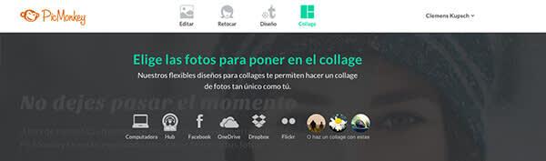Diseña un collage de fotos en PicMonkey   1