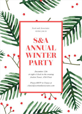 Annual Winter Party