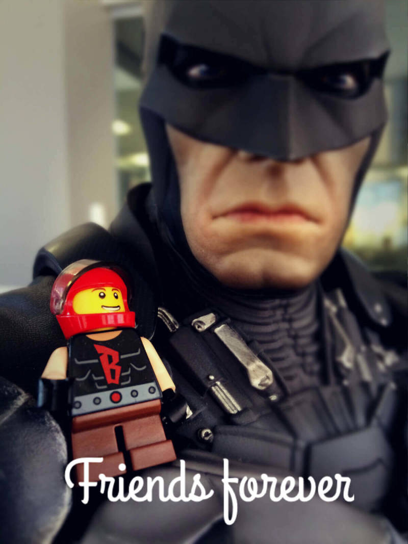 Mobile photos highlighting one PicMonkey staffer's Lego adventures.