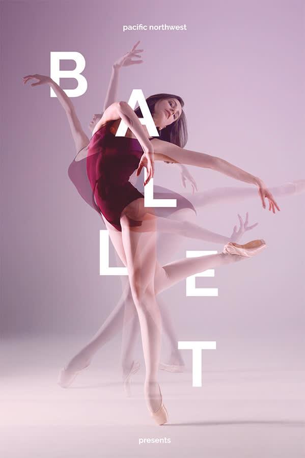 A text on photo design featuring a ballet dancer.