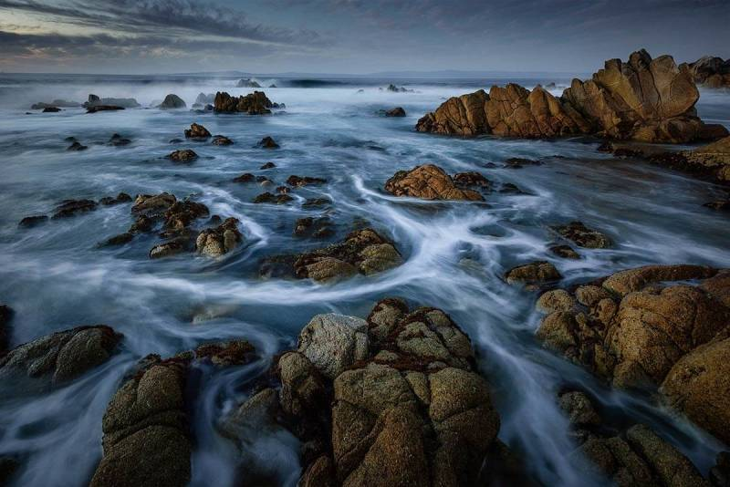 Frits Habermann's water photography from Pacific Grove California, USA.