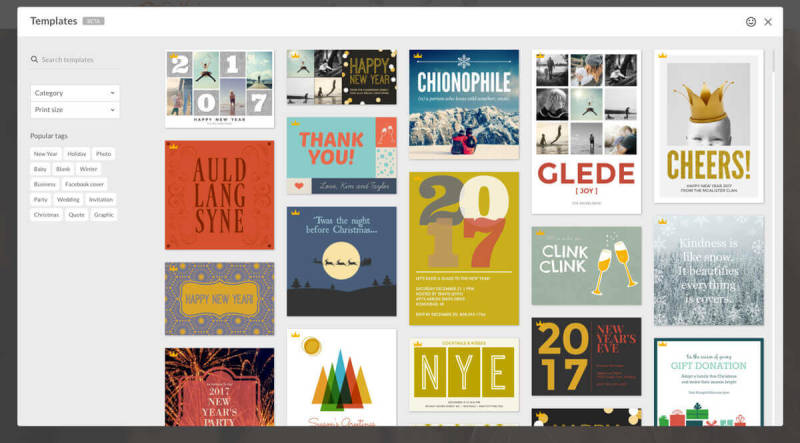 templates, picmonkey, design, design templates, year in review, 2016
