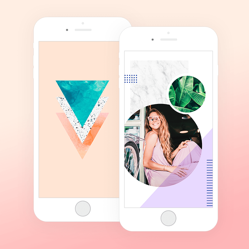 Create custom phone wallpaper in picmonkey