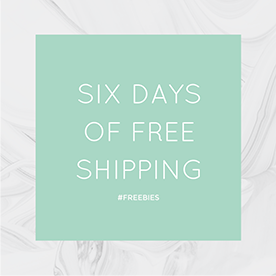 Six Days of Free Shipping template