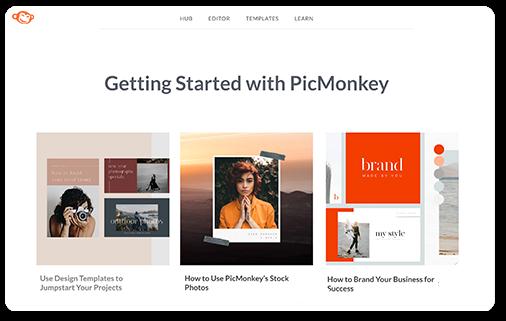 PicMonkey Help Page