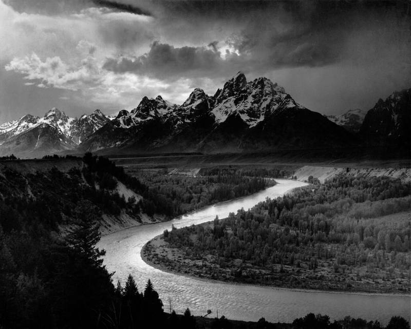 Ansel Adams: The Tetons & the Snake River