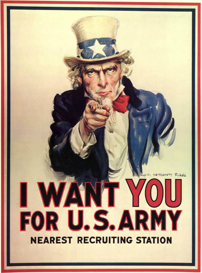 One of the most famous American propaganda posters,