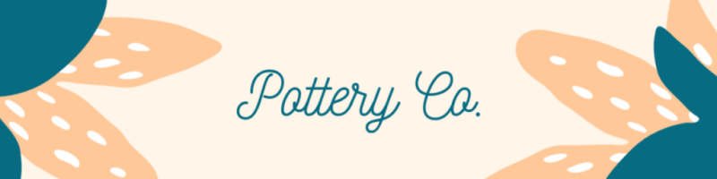 Your Etsy banner can be super simple, focusing only on your name and logo.