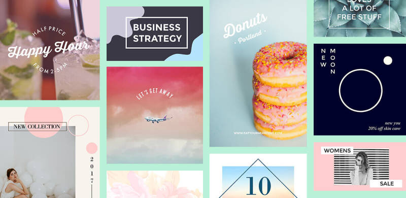 using design templates is an easy way to create great looking images