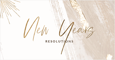 Keep your resolutions New Year's Cards
