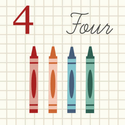 This graph paper and crayon chart is a great back to school project from PicMonkey.