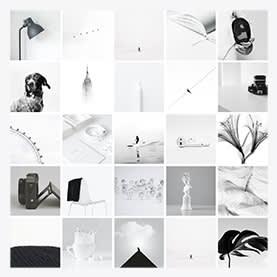 Monochromatic Collage - Photo Collage Template